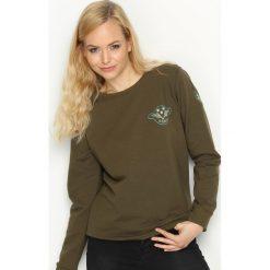 Bluzy damskie: Khaki Bluza Army Coalition