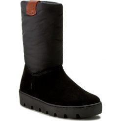 Buty NAPAPIJRI - Jenny 13743509 Black N00. Czarne buty zimowe damskie marki Napapijri, z materiału. W wyprzedaży za 349,00 zł.