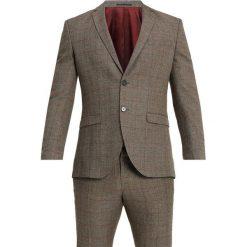 Selected Homme SLHSLIM MYLOLOGAN CHECK SUIT Garnitur major brown/red. Brązowe garnitury Selected Homme, z elastanu. Za 899,00 zł.