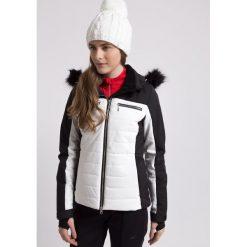 Kurtka narciarska damska KUDN151 - biały - 4F. Białe kurtki sportowe damskie 4f, na jesień, m, z dzianiny, z kapturem. Za 1299,99 zł.