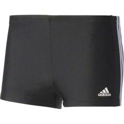 Kąpielówki męskie: Adidas Kąpielówki Essence Core 3-Stripes Boxer Czarno-białe Rozmiar 6 (BQ0631*6)
