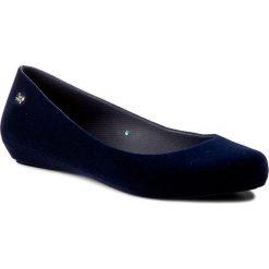 Baleriny ZAXY - Pop Flocked Fem 82001 Granat 01682 Y285045. Niebieskie baleriny damskie lakierowane Zaxy, z materiału. W wyprzedaży za 129,00 zł.