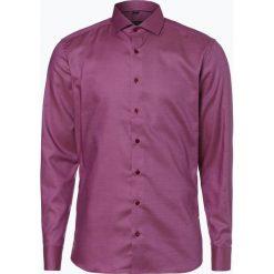 Koszule męskie na spinki: Eterna Slim Fit – Koszula męska niewymagająca prasowania, różowy