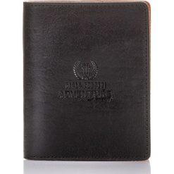 KOLOROWY SKÓRZANY PORTFEL MĘSKI PAOLO PERUZZI ADVENTURE. Czarne portfele męskie marki Paolo Peruzzi, w kolorowe wzory, ze skóry. Za 99,90 zł.