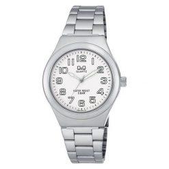 Biżuteria i zegarki męskie: Zegarek Q&Q Męski Q836-204 Klasyczny czarny