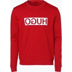 Bejsbolówki męskie: HUGO - Męska bluza nierozpinana – Dicago, czerwony