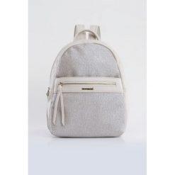 Plecaki damskie: Plecak z połyskującym panelem