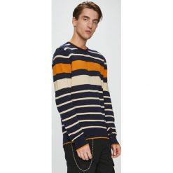 Brave Soul - Sweter. Czarne swetry klasyczne męskie Brave Soul, l, z dzianiny, z okrągłym kołnierzem. Za 99,90 zł.