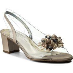 Rzymianki damskie: Sandały BRENDA ZARO – T1970 Napa Metallic Cava