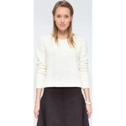 Swetry klasyczne damskie: SWETER DŁUGI RĘKAW DAMSKI KLASYCZNY