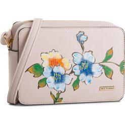 Torebka WITTCHEN - 86-4Y-513-P Beżowy. Brązowe torebki klasyczne damskie Wittchen, ze skóry ekologicznej. W wyprzedaży za 149,00 zł.