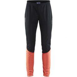 Spodnie sportowe damskie: Craft Spodnie Damskie Storm 2.0 Czarne/Różowe L