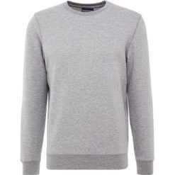 Emporio Armani FELPA Bluza mottled grey. Szare bluzy męskie marki Emporio Armani, l, z bawełny, z kapturem. Za 589,00 zł.
