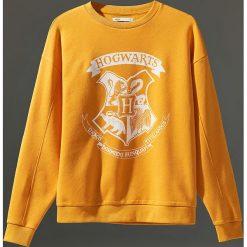 Bluza Harry Potter - Żółty. Żółte bluzy damskie marki Mohito, l, z dzianiny. Za 79,99 zł.