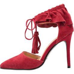 Szpilki: Lavish Alice RUFFLE POINTED STILETTO Szpilki red