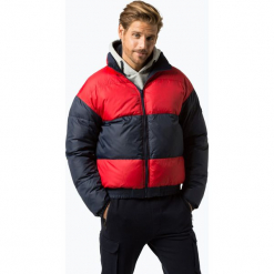 Tommy Jeans - Męska kurtka dwustronna, czarny. Niebieskie kurtki męskie jeansowe marki Reserved, l. Za 799,95 zł.