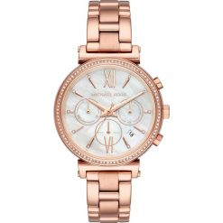 Zegarek MICHAEL KORS - Sofie MK6576 Rose Gold/Rose Gold. Czerwone zegarki damskie Michael Kors. Za 1369,00 zł.