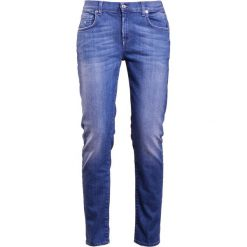 7 for all mankind Jeansy Slim Fit illusion pacific. Niebieskie jeansy damskie relaxed fit 7 for all mankind, z bawełny. W wyprzedaży za 464,50 zł.