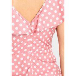 Sukienki hiszpanki: Missguided Petite POKKA DOT TEA DRESS  Sukienka letnia pink