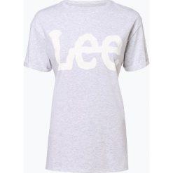 Lee - T-shirt damski, szary. Szare t-shirty damskie Lee, l, z nadrukiem. Za 129,95 zł.