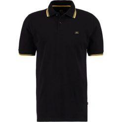Koszulki polo: Alpha Industries TWIN STRIPE NEW Koszulka polo black/yellow