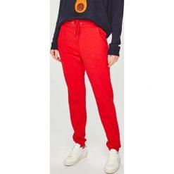 Answear - Spodnie. Czerwone bryczesy damskie ANSWEAR, l, z bawełny. Za 89,90 zł.