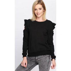 Czarna Bluza Keep Calm. Czarne bluzy damskie Born2be, na jesień, l. Za 54,99 zł.