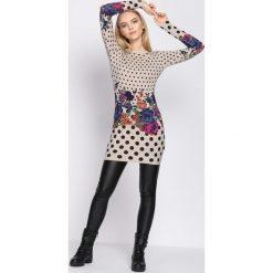 Khaki Sukienka All Night. Brązowe sukienki mini marki Born2be, uniwersalny. Za 49,99 zł.