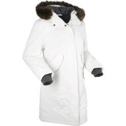 Płaszcze damskie pastelowe: Płaszcz funkcyjny outdoorowy bonprix ecru