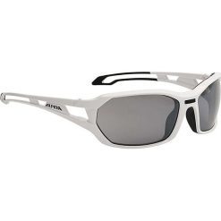 """Okulary przeciwsłoneczne damskie: Okulary przeciwsłoneczne """"Berryn"""" w kolorze biało-szarym"""