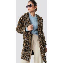 Minimum Płaszcz Belinde - Brown. Brązowe płaszcze damskie pastelowe Minimum. Za 607,95 zł.
