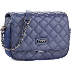 Torebka NOBO - NBAG-D4160-C013 Granatowy. Niebieskie listonoszki damskie marki Nobo, z materiału. W wyprzedaży za 109,00 zł.