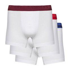 Bokserki męskie: Zestaw bokserek w kolorze białym - 3 szt.