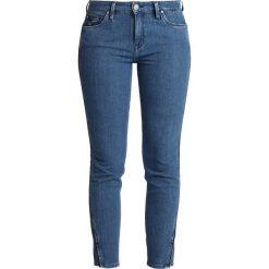 Lee ELLY CROPPED Jeans Skinny Fit piped stonewash. Niebieskie jeansy damskie relaxed fit Lee, z bawełny. Za 349,00 zł.