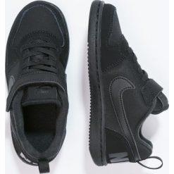 Nike Sportswear COURT BOROUGH Tenisówki i Trampki black. Czarne trampki chłopięce Nike Sportswear, z materiału. Za 149,00 zł.