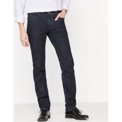 Dżinsy o kroju slim z denimu ze stretchem. Szare jeansy męskie slim marki La Redoute Collections. Za 141,08 zł.