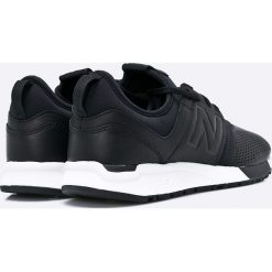 New Balance - Buty MRL247VE. Czarne buty skate męskie New Balance, z gumy. W wyprzedaży za 399,90 zł.