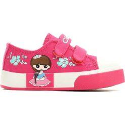 Buty sportowe dziewczęce: Różowe Trampki Flowery Princess