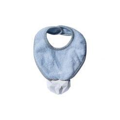 LullaLove SupeRRO Baby Śliniak z gumowym gryzakiem błękit. Niebieskie śliniaki LullaLove, z gumy. Za 53,00 zł.