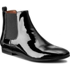 Sztyblety NESSI - 46703 Czarny 7. Czarne buty zimowe damskie marki Nessi, z materiału, na obcasie. W wyprzedaży za 229,00 zł.