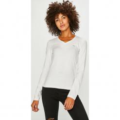 Lacoste - Bluzka. Szare bluzki asymetryczne Lacoste, l, z bawełny, casualowe. Za 249,90 zł.