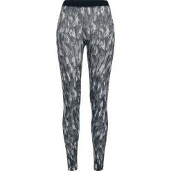 Spodnie damskie: Urban Classics Ladies Active Graphic Leggings Legginsy szary