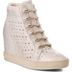 Sneakersy CARINII - B4304 F76-000-000-B88. Żółte sneakersy damskie Carinii, z materiału. W wyprzedaży za 239,00 zł.