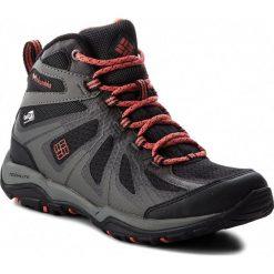Buty trekkingowe damskie: Trekkingi COLUMBIA - Peakfreak Xcrsn II Xcel Mid BL1736 Black/Red Canyon 013