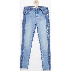 Rurki dziewczęce: Spodnie jeansowe slim fit - Niebieski