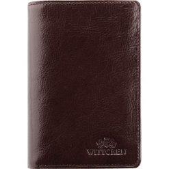 Portfel 21-1-008-4. Brązowe portfele męskie Wittchen. Za 299,00 zł.