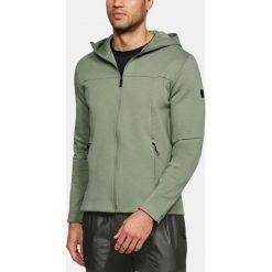 Bluzy męskie: Under Armour Bluza męska Sportstyle Elite Utility FZ zielona r. XL (1306451-035)