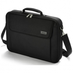 "Dicota Base 14 - 15.6"" czarna. Czarne torby na laptopa Dicota, z materiału. Za 69,90 zł."