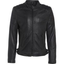 Goosecraft BIKER Kurtka skórzana black. Czarne kurtki męskie skórzane marki Reserved, l. W wyprzedaży za 629,25 zł.