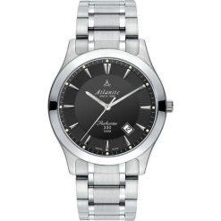 Biżuteria i zegarki męskie: Zegarek Atlantic Męski Seahunter 71365.41.61 Szafirowe szkło